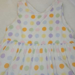 Pastel Spring Dress with Hat
